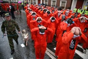 Guantanamo-protesta