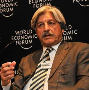 Masood_Sharif_Khan_Khattak_at_World_Economic_Forum_2009