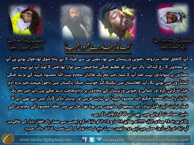 Khawray Shaheed Taruf