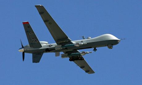 An MQ-9 Reaper at Creech Air Force Base in Nevada