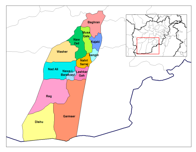 Helmand_districts