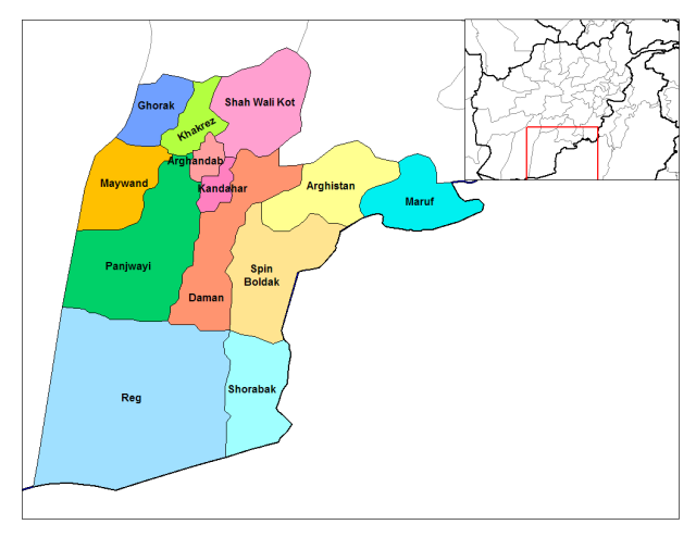 Kandahar_districts